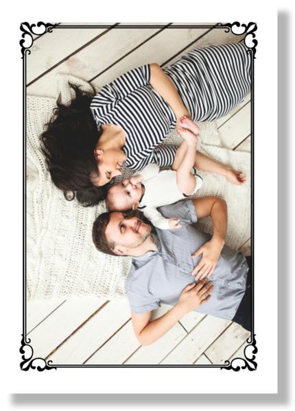 Elegant Framed Large Photo Framed Print