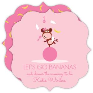 Monkey baby shower invitations filmwisefo