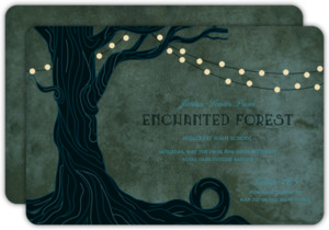 Enchanted Forest Prom Invitation