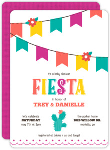 Colorful Fiesta Couples Baby Shower