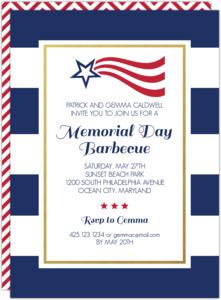 memorial day invitations memorial day cards