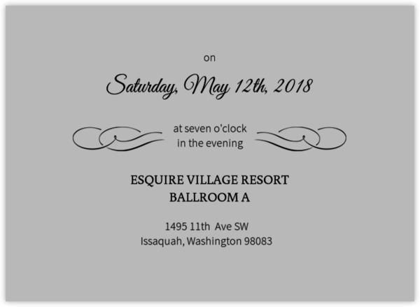 Fairytale Prom Invitation