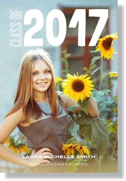 Student Photo Class Of Graduation Poster