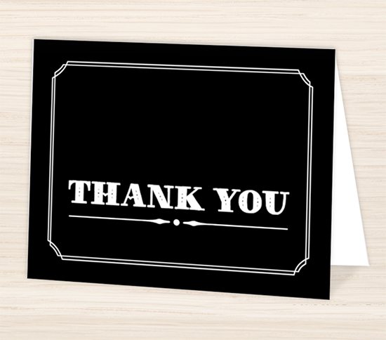 Personalized Thank You Cards