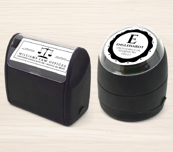 Self-Inking Personalized Stamps