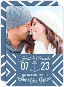 Oceanside Save The Date Card