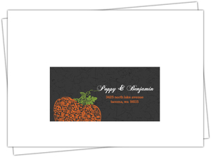 Regal Halloween Return Address Envelope