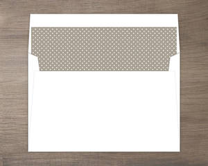 Dotted Envelope Liner