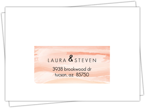 Orange Sky Desert Mailing Envelope