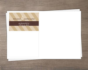 Modern Statement Custom Envelope