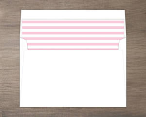 Bright Blossoms Envelope Liner