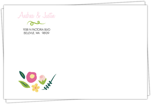 Bright Blossoms Envelope