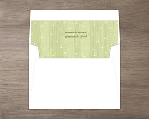 Whimsical Summer Floral Envelope Liner