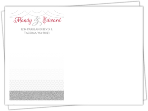 Elegant Royal Pattern Custom Envelope