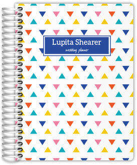 Colorful Modern Triangles Wedding Planner
