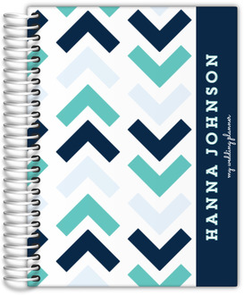 Modern Chevron Arrows Wedding Planner