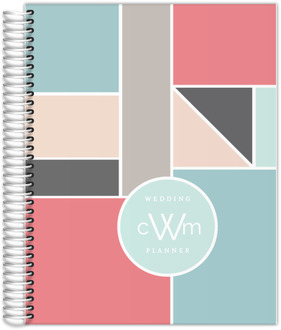 Contemporary Geometric Wedding Planner