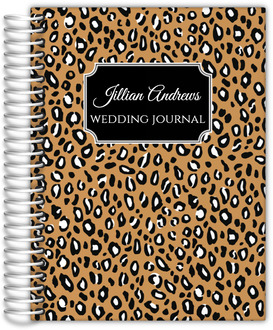 On The Wild Side Wedding Journal