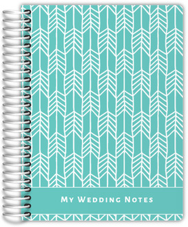 Sketchy Arrows Wedding Journal