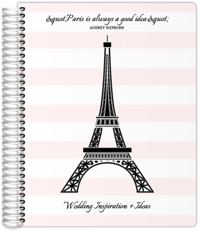Pink Paris Chic Wedding Journal