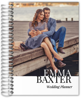 Modern Type Full Photo Wedding Planner