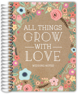Growing Garden Frame Wedding Journal