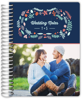 Spring Garden Frame Wedding Journal