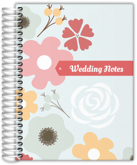 Budding Florals Wedding Journal
