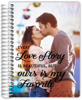 Custom Photo Love Story Wedding Planner