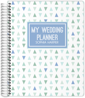 Deep Sea Beach Glass Pattern Wedding Planner