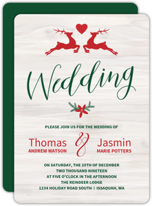 Christmas Wedding Invitations.Christmas Wedding Invitations Christmas Wedding Invites