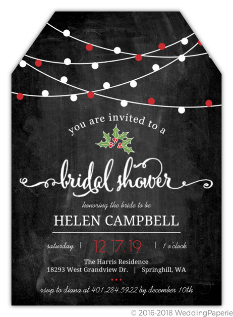 Hanging lights chalkboard bridal shower invitation bridal shower hanging lights chalkboard bridal shower invitation filmwisefo