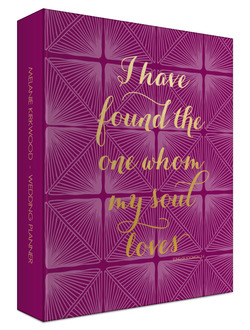 Found Love Bible Verse 3 Ring Binder Wedding Planner