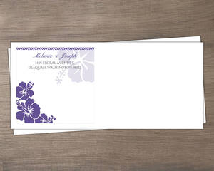 Destination Boarding Ticket Custom Envelope