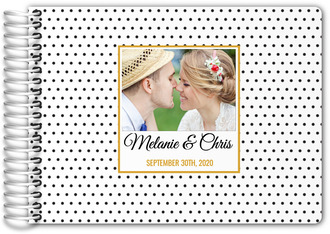 Grateful Day Modern Wedding Guest Book