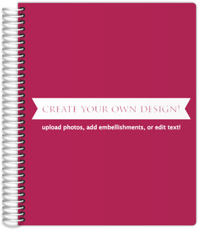 Create Your Own Planner 8.5x11 Inches