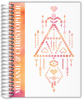 Boho Watercolor Totem Wedding Planner