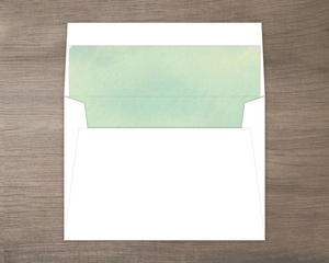 Foliage Garland Envelope Liner