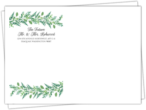 Foliage Garland Custom Envelope