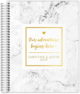 Our Adventure Begins Real Foil Wedding Planner