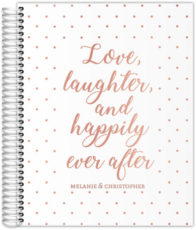 Love Laughter Real Foil Wedding Planner
