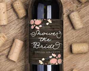 Rustic Bride Wine Label