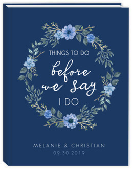 Things To Do Before I Do Wedding Journal