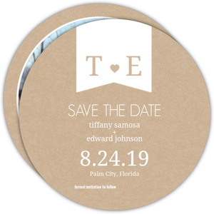 Kraft Heart Save The Date Announcement