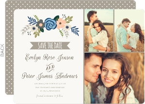 Springtime Floral Save The Date