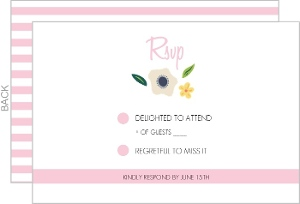 Bright Blossoms Response Card
