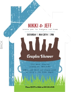 Brew Bucket Couples Shower Invitation