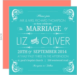 Elegant Wedding Invitations Elegant Wedding Invites