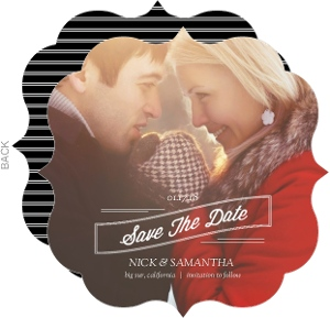Classic Banner Save The Date Announcement