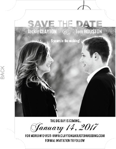 Movie Poster Save The Date